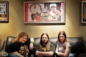 Terri, Robert, & Leah