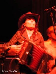Tara Nevins on accordion